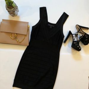 ⭐️French Connection Black Bodycon Dress⭐️